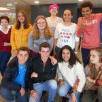 Treffen in Burgos mit Austauschschülern